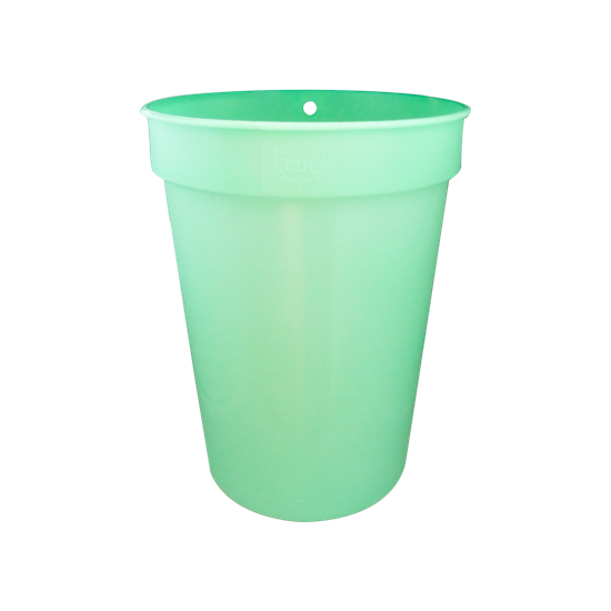 Picture of 3 GALLON GREEN PLASTIC SAP BUCKET