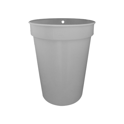 Picture of 2 GALLON GRAY PLASTIC SAP BUCKET