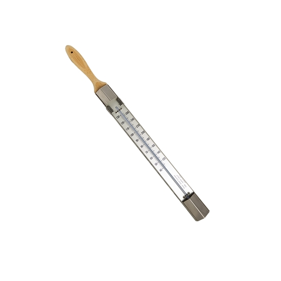 "Picture of THERMOMETER 18.5"" WOODEN HANDLE"
