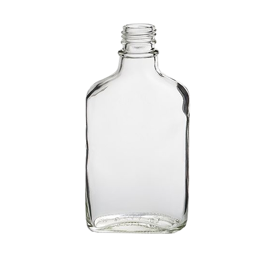 Picture of GLASS BOTTLE HIP FLASK 200ML