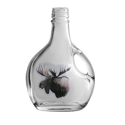Picture of GLASS BOTTLE BASQ.250ML MOOSE