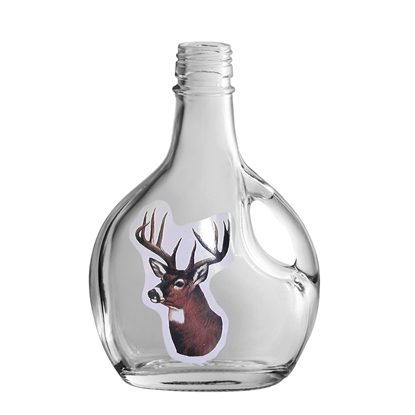 Picture of GLASS BOTTLE BASQ.250ML DEER