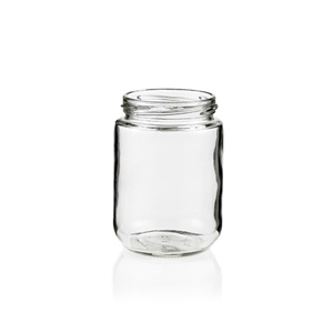 Picture of GLASS JAR 125ML SHORT ROUND 48TW