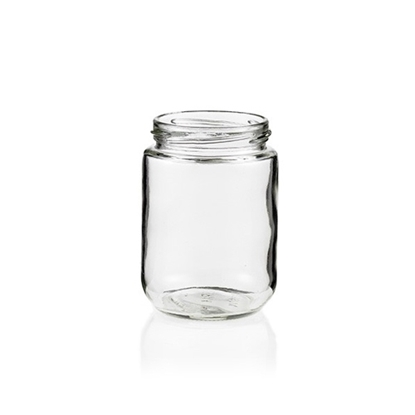Picture of GLASS JAR 375ML SHORT ROUND 70TW