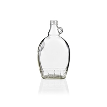 Picture of GLASS BOTTLE FLAT 500ML