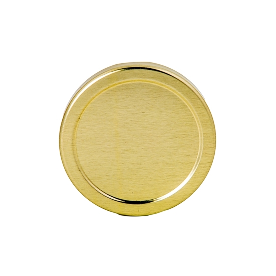 Picture of METAL LID 53MM GOLD TW