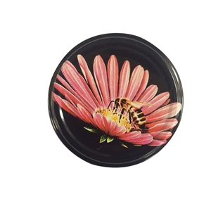 Picture of METAL LID 70MM PURPLE CONE FLOWER TW