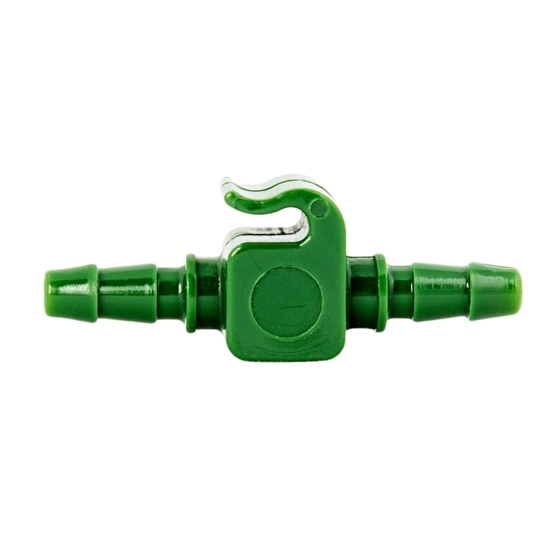"Picture of 3/16"" GREEN'' FLAT HOOK CONNECTOR"