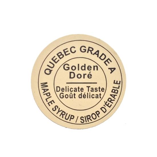 Picture of GRADING LABEL QUEBEC GOLDEN 2015 STANDARDS (RL/500)