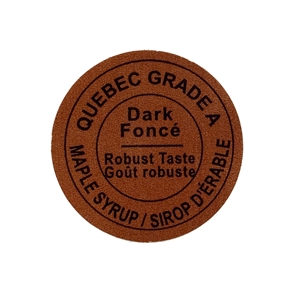 Picture of GRADING LABEL QUEBEC DARK 2015 STANDARDS (RL/500)