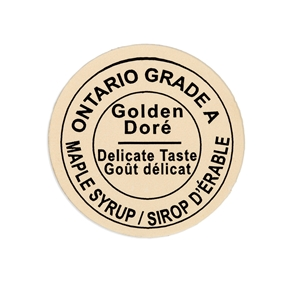 Picture of GRADING LABEL ONTARIO GOLDEN 2015 STANDARDS (500)