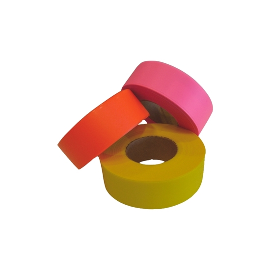 """Picture of FLAGGING TAPE 1"""" PINK"""