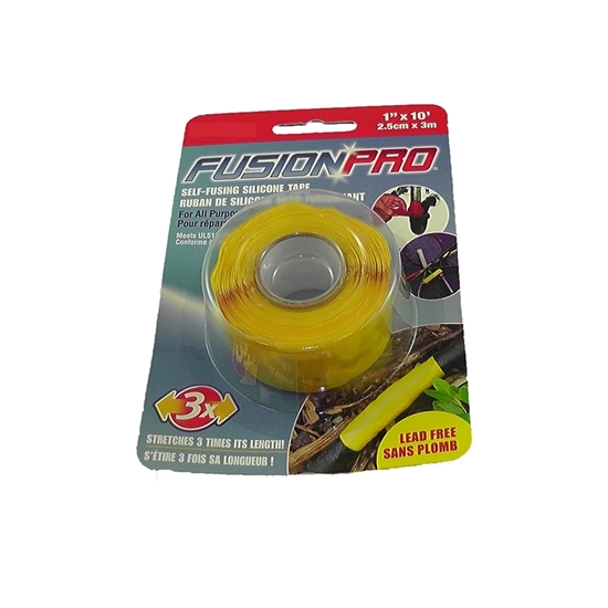 """Picture of FUSION PRO TAPE (YELLOW) 1"""""""