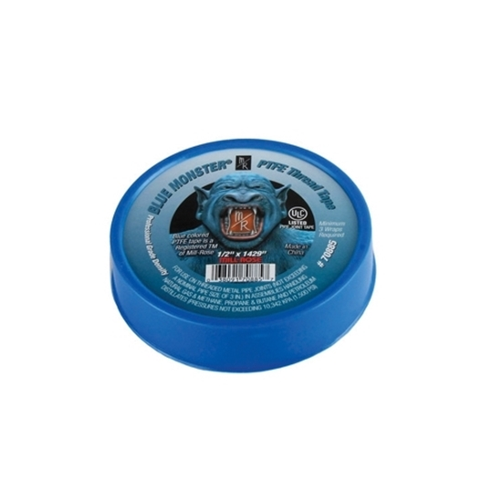 "Picture of TEFLON TAPE BLUE MONSTER 1/2"" X 1429"""