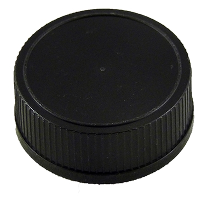 Picture of PLASTIC CAP 31.5MM X 18MM BLACK