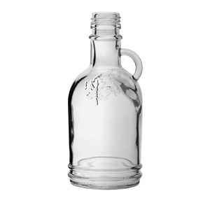 Picture of GLASS BOTTLE GALLONE LEAF 250ML