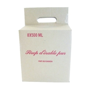 Picture of CARDBOARD BOX WITH HANDLE 8X375ML