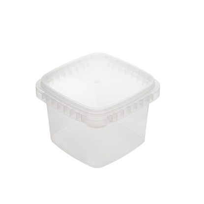 Picture of CLEAR SQUARE CONTAINER 300G