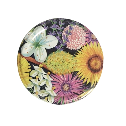 Picture of METAL LID W-FLOWER