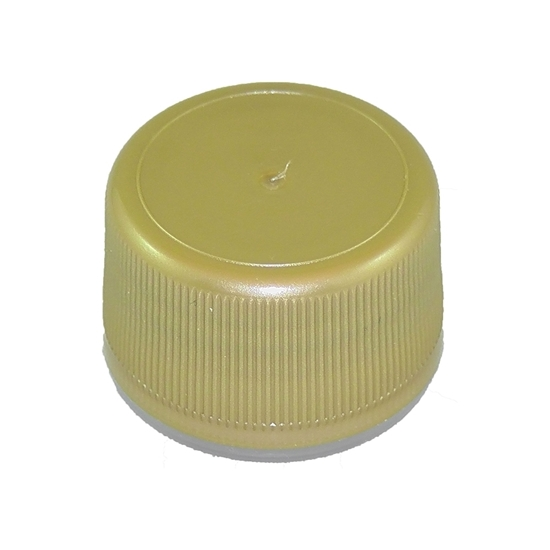 Picture of PLASTIC CAP GOLD / MAPLE