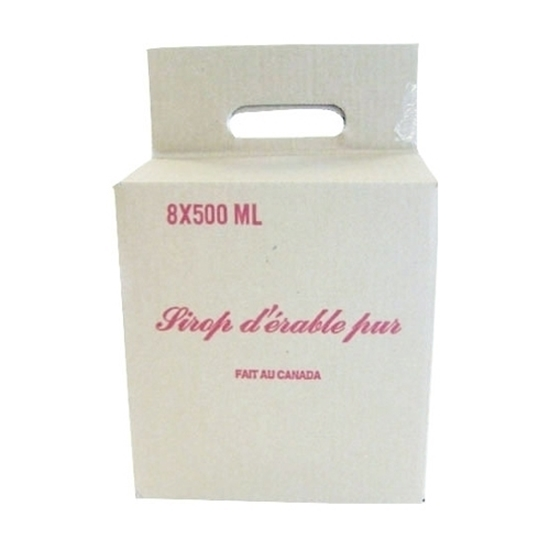 Picture of  CARDBOARD BOX WITH HANDLE