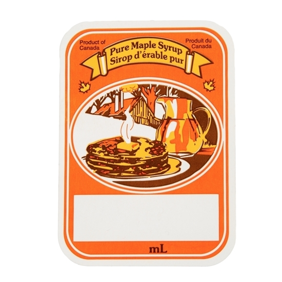 Picture of SELF-ADHESIVE LABELS ORANGE