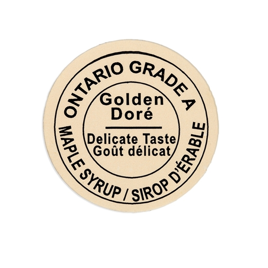 Picture of  GRADING LABEL ONTARIO 2015 STANDARDS