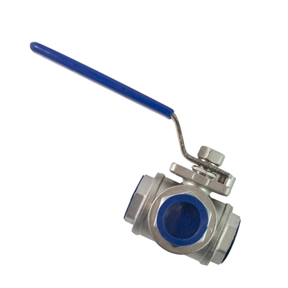 "Picture of 3-WAY STAINL. VALVE 1"" (OSMOSIS)"