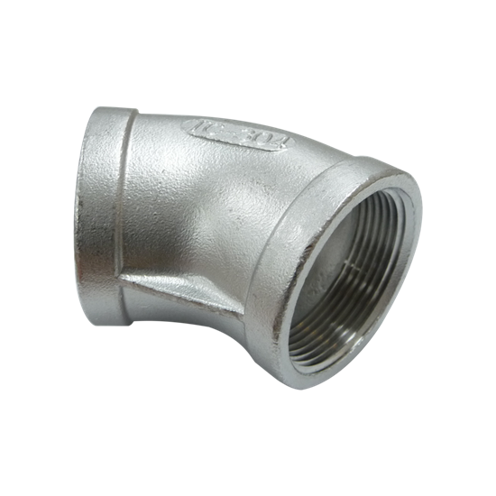 """Picture of SS ELBOW 1-1/4"""" 45° FIPT"""