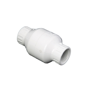 "Picture of PVC CHECK VALVE 1"" WHITE FIPT"