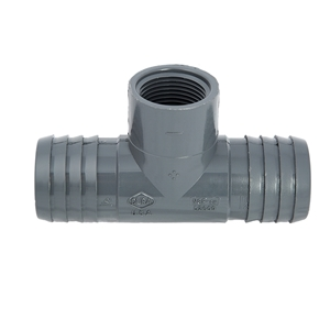 "Picture of PVC T 1-1/2"" X 1-1/2"" X 1/2"" INS-INS-FIPT"