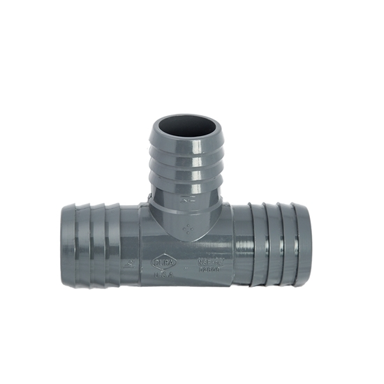 """Picture of PVC T 1-1/4"""" X 1"""" X 3/4"""" INS"""