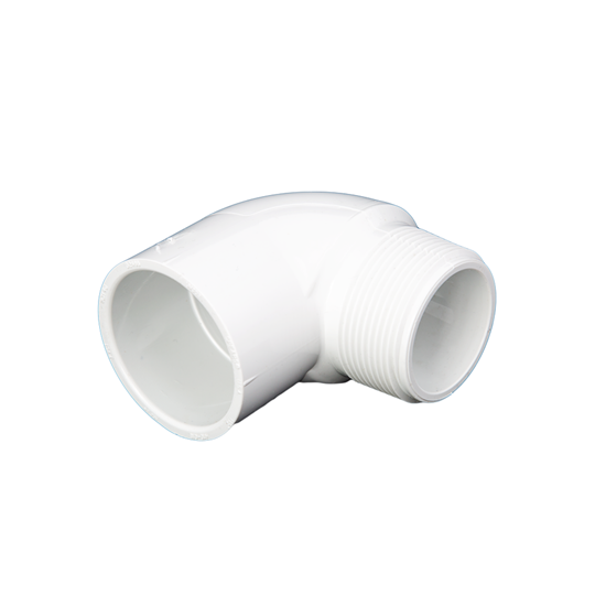 "Picture of PVC ELBOW 1"" 90° MIPT-SLIP"