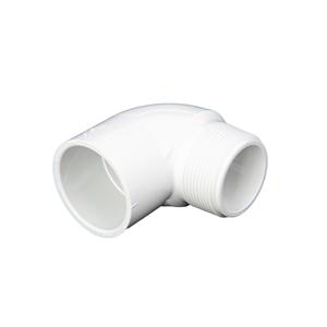 """Image sur COUDE PVC 1-1/2"""" 90° MIPT-SLIP"""