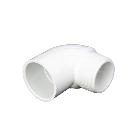 "Picture of PVC ELBOW 1-1/2"" 90° MIPT-SLIP"