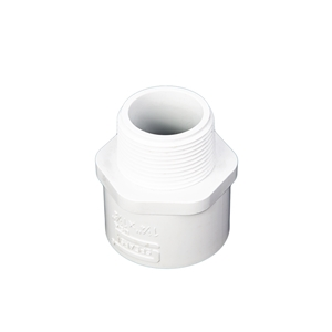 """Picture of PVC RED. 2"""" X 1-1/2"""" MIPT-SLIP"""