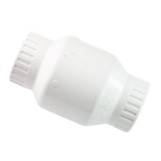 """Image sur SOUPAPE PVC BLANC 1-1/2"""" SLIP"""