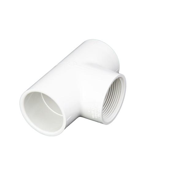 "Image sur T PVC 1-1/2"" SLIP-SLIP-FIPT"