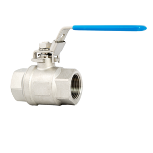 "Picture of SS BALL VALVE 3/4"" FIPT"