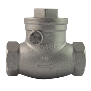 Picture of SS CHECK VALVE 1""