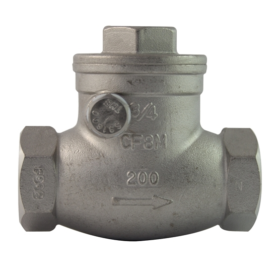 """Picture of SS CHECK VALVE 1"""""""