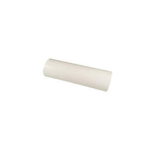 Picture of White rigid PVC pipe 4''