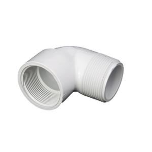 """Picture of PVC ELBOW 1/2"""" 90° MIPT-FIPT"""