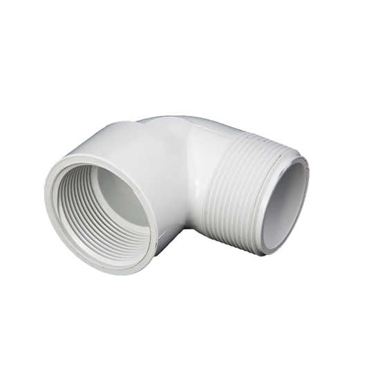 "Picture of PVC ELBOW 1-1/4"" 90° MIPT-FIPT"