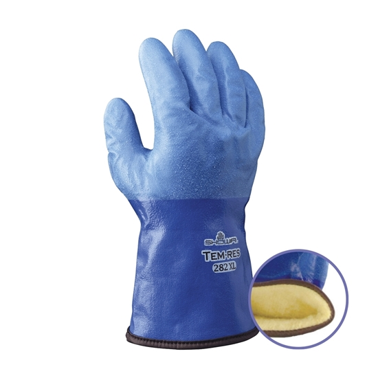 Picture of WATERPROOF THERMAL BLUE GLOVE - X-LARGE