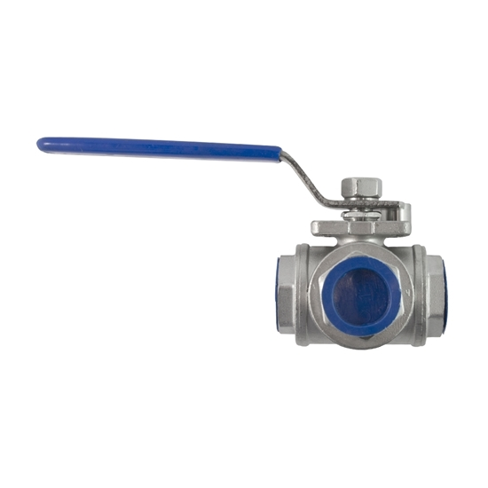 "Picture of 3-WAY STAINL. VALVE 3/4"" (STANDARD)"