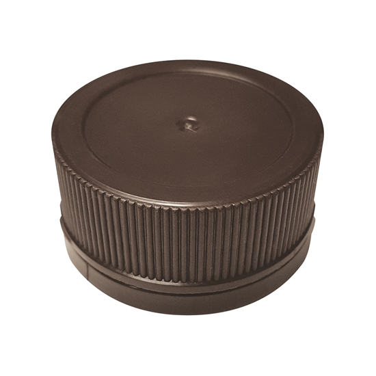 Picture of PLASTIC CAP 28MM BROWN T-E+ SEAL / 100ML JUGS