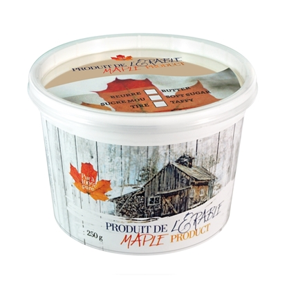 Picture of CDL COLLECTION MAPLE CREAM TUB  250G + PRINTED COVER