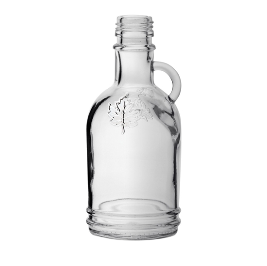 Picture of GLASS BOTTLE GALLONE LEAF