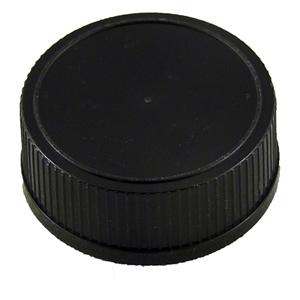 Picture of PLASTIC CAP 28-400 BLACK